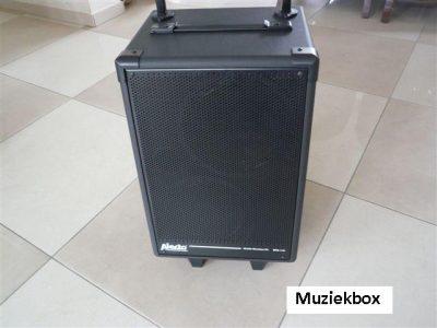 Muziek installatie